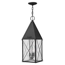 York 3 Light Outdoor Hanging Lantern