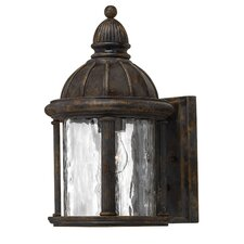 Capitol Outdoor Wall Lantern in Forum Bronze