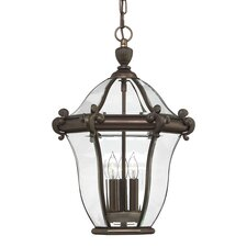 San Clemente 3 Light Outdoor Hanging Lantern