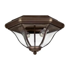 <strong>Hinkley Lighting</strong> San Clemente Outdoor Flush Mount