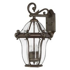 <strong>Hinkley Lighting</strong> San Clemente Outdoor Wall Lantern
