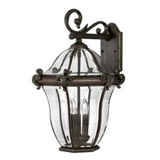 San Clemente Outdoor Wall Lantern