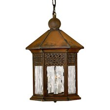 Westwinds 3 Light Outdoor Hanging Lantern