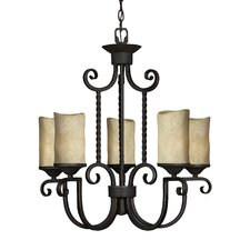 Casa 5 Light Chandelier