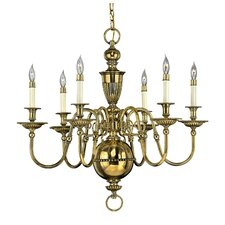 <strong>Hinkley Lighting</strong> Cambridge 6 Light Chandelier