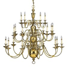 <strong>Hinkley Lighting</strong> Cambridge 25 Light Chandelier