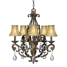 <strong>Hinkley Lighting</strong> Veranda 5 Light Chandelier