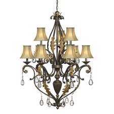 <strong>Hinkley Lighting</strong> Veranda 9 Light Chandelier