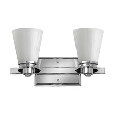 <strong>Hinkley Lighting</strong> Avon 2 Light Wall Sconce