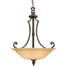 Plymouth 3 Light Inverted Pendant