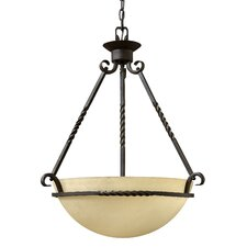 Casa 3 Light Inverted Pendant