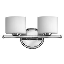 <strong>Hinkley Lighting</strong> Ocho 2 Light Vanity Light