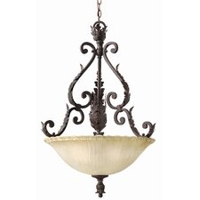 Martina 3 Light Foyer Inverted Pendant