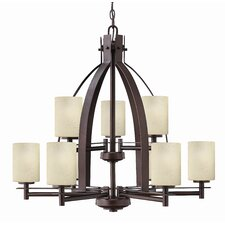 <strong>Hinkley Lighting</strong> Stowe 9 Light Chandelier