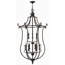 Plymouth 9 Light Foyer Pendant