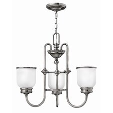 <strong>Hinkley Lighting</strong> Easton 3 Light Chandelier