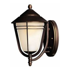 <strong>Hinkley Lighting</strong> Aurora Wall Lantern in Metro Bronze