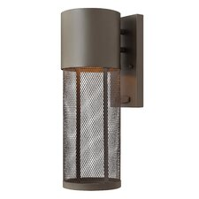 <strong>Hinkley Lighting</strong> Aria 1 Light Small Outdoor Wall Lantern