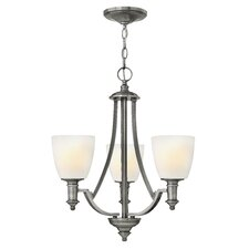 <strong>Hinkley Lighting</strong> Truman 3 Light Chandelier