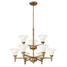 <strong>Hinkley Lighting</strong> Abbie 9 Light Chandelier