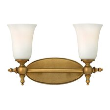 Yorktown 2 Light Bath Vanity Light