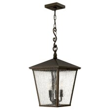 Trellis 3 Light Outdoor Hanging Lantern