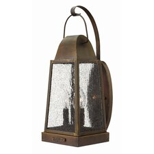 <strong>Hinkley Lighting</strong> Sedgwick 3 Light Outdoor Wall Lantern