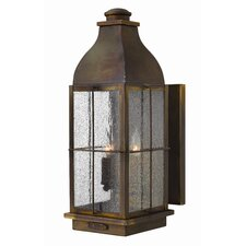 <strong>Hinkley Lighting</strong> Bingham 3 Light Outdoor Wall Lantern