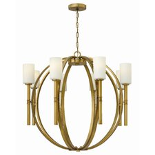 <strong>Hinkley Lighting</strong> Margeaux 8 Light Chandelier