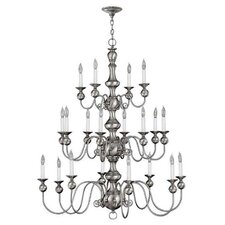 Virginian 20 Light Chandelier