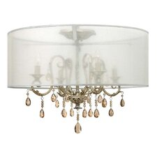 Carlton 4 Light Semi Flush Mount