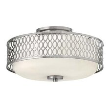 Jules 3 Light Foyer Flush Mount