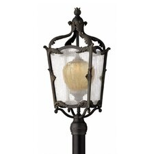 Sorrento 1 Light Outdoor Post Lantern