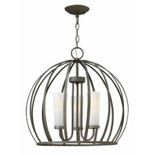 <strong>Hinkley Lighting</strong> Renata 3 Light Chandelier