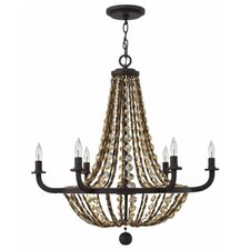 <strong>Hinkley Lighting</strong> Hamlet 6 Light Chandelier