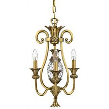Plantation 3 Light Mini Chandelier
