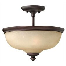 <strong>Hinkley Lighting</strong> Thistledown 3 Light Semi Flush Mount Foyer