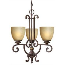 French Creek 3 Light Chandelier