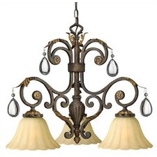 Veranda 3 Light Chandelier