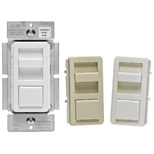 Preset Single Pole Slide Dimmer (Set of 3)