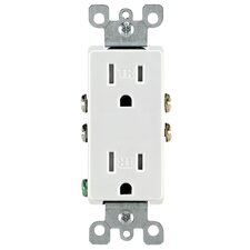 Decora Duplex Receptacle (Set of 10)