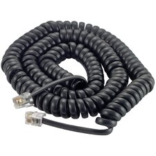 """15"""" Coiled Handset Cord"""