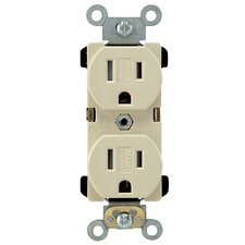 Narrow Body Duplex Receptacle
