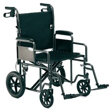 "<strong>Invacare</strong> 22"" Bariatric Transport Wheelchair"