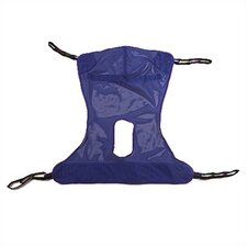 Mesh Full Body Sling with Commode Opening