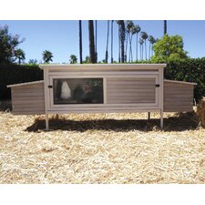 <strong>Precision Pet Products</strong> Hen Den Chicken Coop with Nesting Box and Roosting Bar