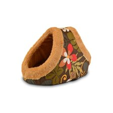Natural Surroundings Floral Hide and Seek Dome Dog Bed