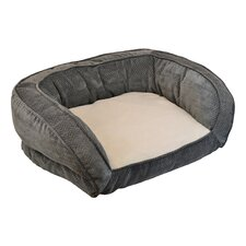 Chevron Gusset Couch Daydreamer Bolster Dog Bed