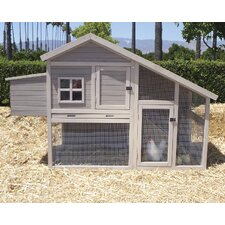 Extreme Cape Cod Chicken Coop with Nesting Box and Roosting Bar