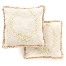 Josephine Cotton Decorative Pillow (Set of 2)